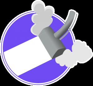Steam Cleaner purple